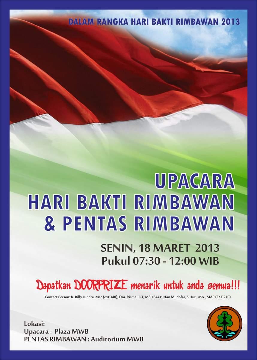 Poster Upacara